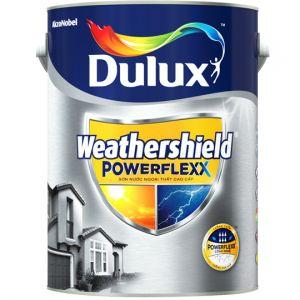 Sơn Dulux Weathershield PowerFlexx - Bề Mặt Bóng Mờ