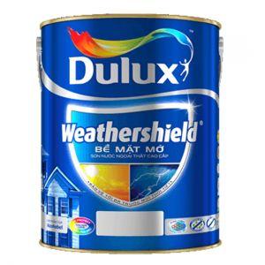 Dulux Weathershield Bề Mặt Mờ