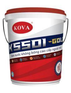 SƠN NƯỚC KHÔNG BÓNG CAO CẤP NGOÀI  TRỜI K5501- TRẮNG- GOLD