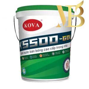 Kova K-5500 - Sơn bán bóng cao cấp trong nhà