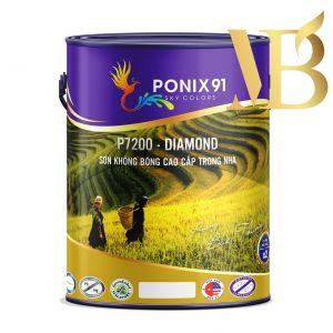 SƠN KHÔNG BÓNG CAO CẤP NỘI THẤT PONIX91 - P7200 - DIAMOND