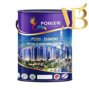SƠN KINH TẾ KHÔNG BÓNG TRONG NHÀ PONIX91-P5200