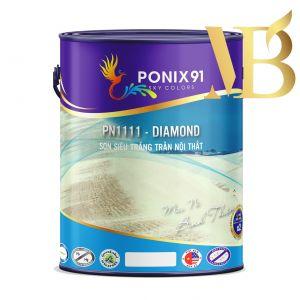 SƠN SIÊU TRẮNG TRẦN NỘI THẤT PONIX91 - PN1111 - DIAMOND