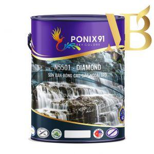 SƠN BÁN BÓNG NGOẠI THẤT PONIX91 - N5501