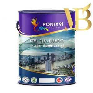 SƠN CHỐNG THẤM MÀU CAO CẤP PONIX91 - CTM91A