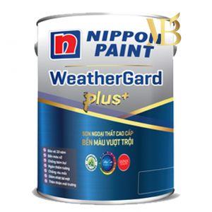SƠN NGOẠI THẤT Sơn Nippon WeatherGard Plus+