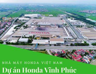 Sơn chống nóng dự án Honda Việt Nam
