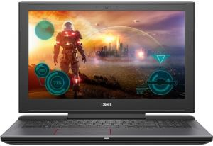 "Dell Inspiron 7577 (i7-7700HQ /8GB RAM/128GB SSD + 1TB HDD/NVIDIA GeForce GTX 1050Ti 4GB/15.6"" FHD)"