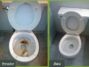 6 bước vệ sinh bồn cầu đúng cách cho nhà bạn