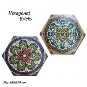 Gạch lục giác nhập khẩu 200X230 Porcelain
