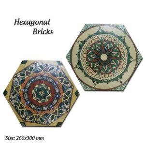Gạch lục giác nhập khẩu 20×23 Porcelain
