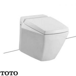 Bàn cầu đặt sàn TOTO CW681P (Thoát ngang)