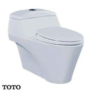Bàn cầu TOTO 1 khối CW823W/F (Made in Indonesia)