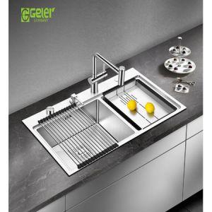 Chậu rửa bát Geler GL-8248 có máy rửa chén cốc