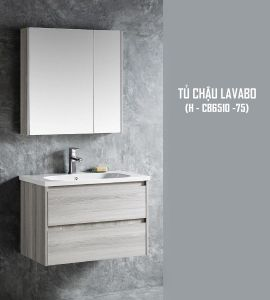 Tủ chậu lavabo 750 (H-CB6510-75)