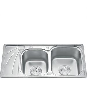Chậu rửa bát inox Gorlde GD 9037 (97x49)