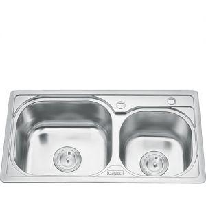 Chậu rửa bát inox Gorlde B208 (77x41)