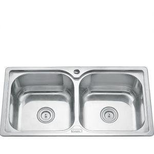 Chậu rửa bát inox Gorlde GD 5222 (87x46)