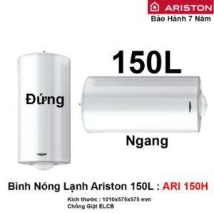 Bình Nóng Lạnh Ariston 150L ARI 150H
