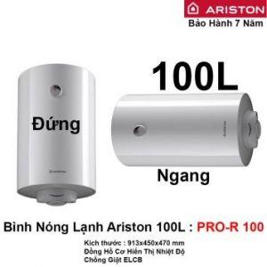 Bình Nóng Lạnh Ariston 100L PRO-R 100