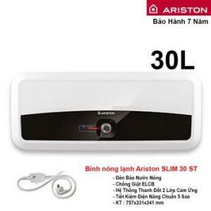 Bình Nóng Lạnh Ariston 30L Slim 30ST