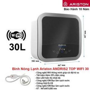 Bình Nóng Lạnh Ariston 30L AN2 TOP WIFI 30