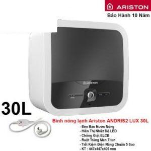 Bình Nóng Lạnh Ariston 30L AN2 LUX30