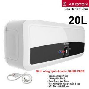 Bình Nóng Lạnh Ariston 20L Slim2 20RS