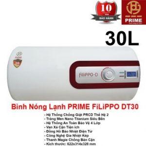 Bình Nóng Lạnh Prime 30L FILIPPO DT30