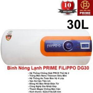 Bình Nóng Lạnh Prime 30L FILIPPO DG30