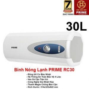 Bình Nóng Lạnh Prime 30L RC30