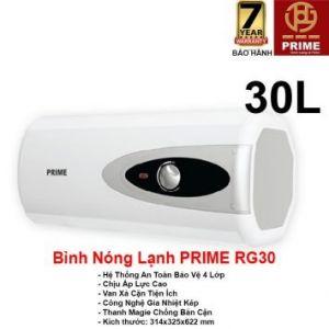 Bình Nóng Lạnh Prime 30L RG30