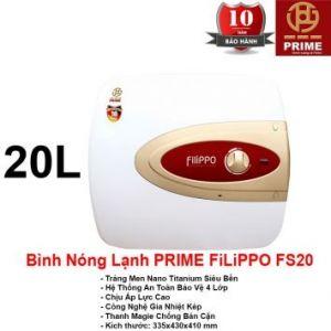 Bình Nóng Lạnh Prime 20L FILIPPO FS20