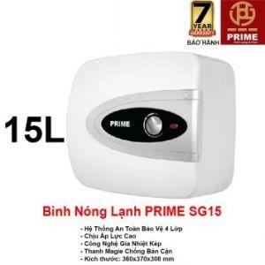 Bình Nóng Lạnh Prime 15L SG15