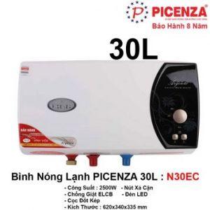 Bình Nóng Lạnh 30L PICENZA N30EC