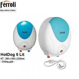 Bình Nóng Lạnh Ferroli HotDog 5L