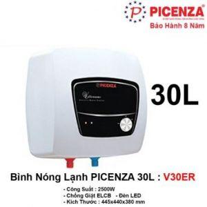 Bình Nóng Lạnh 30L PICENZA V30ER