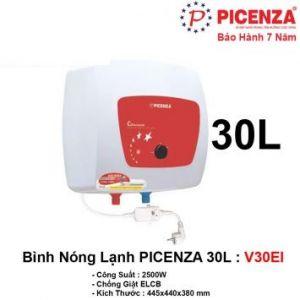 Bình Nóng Lạnh 30L PICENZA V30EI