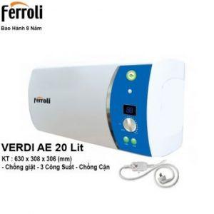 Bình Nóng Lạnh Ferroli VDAE20 (20 Lít)
