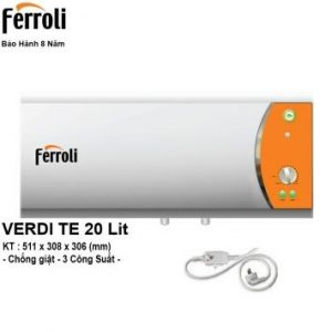 Bình Nóng Lạnh Ferroli VDTE20 (20 Lít)