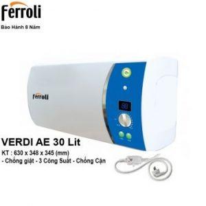 Bình Nóng Lạnh Ferroli VDAE30 (30 Lít)