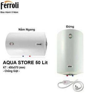 Bình Nóng Lạnh Ferroli AQUA50E (50 Lít)