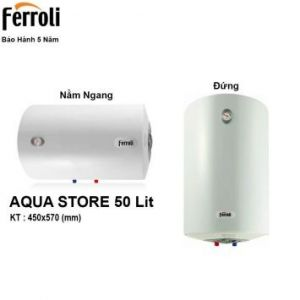 Bình Nóng Lạnh Ferroli AQUA50 (50 Lít)