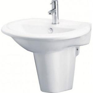 Chậu Rửa Lavabo Kèm Chân Ngắn L2360/P2439