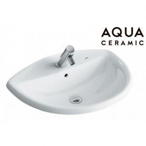 Chậu Rửa Lavabo Inax AL-2396V Âm Bàn AquaCeramic