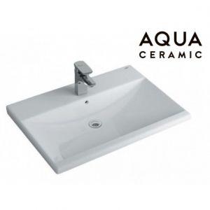 Chậu Rửa Lavabo Inax AL-2397V Dương Vành AquaCeramic