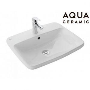 Chậu Rửa Lavabo Inax AL-2398V Dương Vành AquaCeramic
