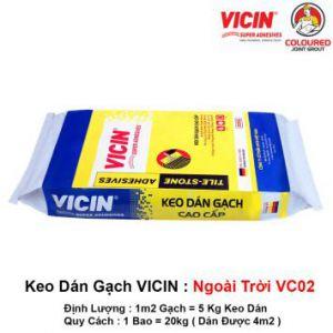 Keo Dán Gạch Ngoài Trời VICIN VC02