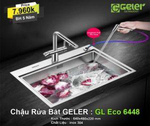 Chậu Rửa Bát Geler GL Eco 6448
