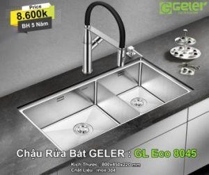 Chậu Rửa Bát Geler GL Eco 8045